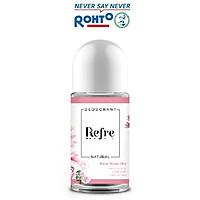 Lăn khử mùi chiết xuất thiên nhiên Refre Natural Rosa Magnolia – Hồng Mộc Lan 40ml