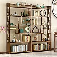 Kệ gỗ trang trí phòng khách, làm vách ngăn, kệ tủ trưng bày, tủ kệ decor phòng khách, phòng ngủ