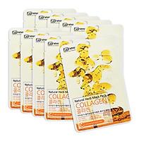 Bộ 10 đắp mặt nạ dưỡng da chiết xuất collagen hàn quốc benew ( 22ml/ gói)