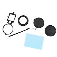 Professional 58mm HD  Lens +16X Filter + Lens  + Adapter Set + EVA
