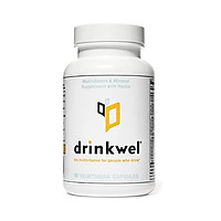 Drinkwel Hangover Cure Multivitamin Supplement (90 Capsule)   Milk Thistle, N-Acetyl Cysteine (NAC), Vitamin C, Zinc, Magnesium   Morning Recovery, Liver Cleanse, Detox, Immune Support