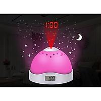 Đèn tạo sao kiêm đồng hồ đổi màu để bàn model V2032 - Tăng 1 đèn led cắm usb