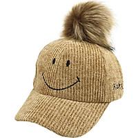 Toddlers Adjustable Sun Protection Boys Girls Children Smile Print Caps Hats Casual Ball Design Visors
