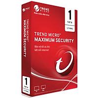 Phần Mềm Diệt Virus Trend Micro Internet Security Bản Quyền 1 PC 12 Tháng - Hàng chính hãng