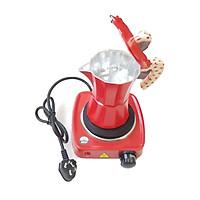 Bộ bếp điện mini và bình pha cà phê espresso Ý - Express moka pot and mini electric stove
