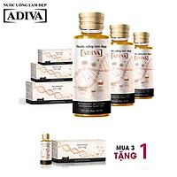 MUA 3 TẶNG 1- Mua 3 Nước uống làm đẹp Collagen ADIVA dạng nước (14 lọ x 30 ml) + Tặng 1 Collagen ADIVA dạng nước (14 lọ x 30 ml)