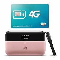 Bộ phát wifi Huawei E5885 4G LTE 300Mbps + Sim Viettel Trọn Gói 12 Tháng 5GB/ tháng tốc độ cao - Hàng nhập khẩu