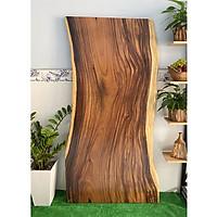 Mặt bàn gỗ me tây nguyên tấm KT 4.5x82x180cm