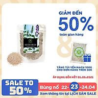 Túi Hạt Chia Trắng REAL FOOD STORE (100G)
