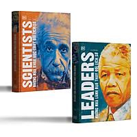 Combo 2 cuốn: Những Nhà Khoa Học Thay Đổi Lịch Sử + Những Nhà Lãnh Đạo Thay Đổi Lịch Sử