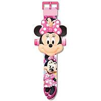 Đồng Hồ Điện Tử Đeo Tay Chiếu 24 Hình 3D chuột Minnie Mouse