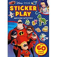 Disney Pixar Sticker Play Awesome Activities - Disney Pixar: Sách trò chơi + hình dán