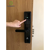 Khoá cửa vân tay thông minh phù hợp với cửa gỗ có 4 tính năng  - AB-07E
