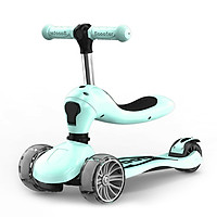 Children's Scooter With Four Wheel Sitting 1-2-6-8 Years Old Two In One Scooter Baby Scooter Foldable Scooter Colorful