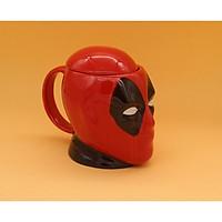 Cốc Deadpool nắp sứ