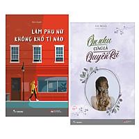Combo Truyện Ngắn ,Tản Văn Cho Phái Nữ Đặc Sắc Nhất : Làm Phụ Nữ Không Khổ Tí Nào + Ôn Nhu Cũng Là Quyến Rũ / Sách Hoàn Thiện Vẻ Đẹp Phái Nữ ( Tặng Kèm Bookmark Happy Life)