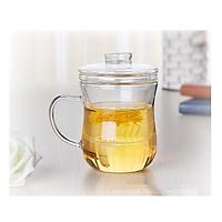 Cốc pha trà có lõi lọc thủy tinh zeno CLL01
