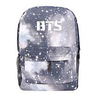 Balo Học Sinh Ban Nhạc BTS - Màu Gray Galaxy
