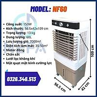 Quạt Điều Hòa - NEFA NF60 - KB8008 - Dung Tích 60l - Motor Đồng - Chân Sắt - Hàng Chính Hãng