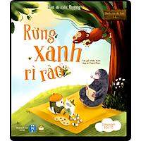 Sách Truyện Tiềm Thức Cho Bé - Rừng Xanh Rì Rào (Bìa Cứng) - Truyện Kể Trước Giờ Đi Ngủ (Dành Cho Trẻ 0-3 4-6 Tuổi)