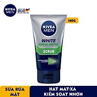 Sữa Rửa Mặt NIVEA MEN Chứa Hạt Mát-Xa Kiểm Soát Nhờn (100G) - 84428