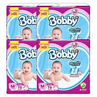 Combo 4 Gói Tã Dán Bobby Fresh Siêu Mỏng Gói...