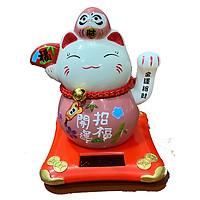 Mèo Năng Lượng Khai Vận Chiêu Phước(12cm x 11cm x 11cm)-PT0249