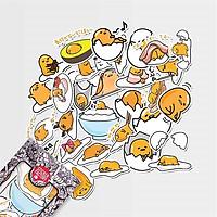 Trứng lười Gudetama - Set 30 sticker hình dán