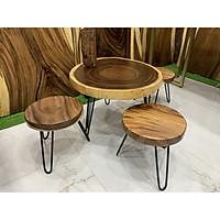 Bộ bàn ghế sofa gỗ me tây