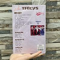 Vở Tfboys vở tập viết idol Trung Quốc ảnh bìa in màu