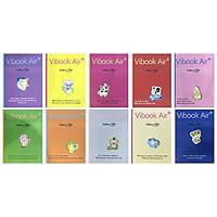 Lốc 10 Tập Vibook 4 Ô Ly Vuông Air Plus