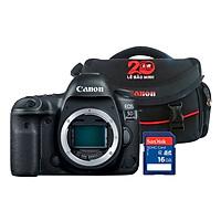 Canon EOS 5D Mark IV Body - Tặng Kèm Thẻ Nhờ Và Túi Đựng Máy Ảnh - Hàng Chính Hãng