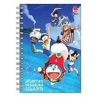 Sổ Gáy Xoắn Mini Notebook Nobita's Treasure Island (200 Trang) - Mẫu Ngẫu Nhiên