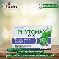 Viên uống giúp ngủ sâu giấc, tăng cường tuần hoàn máu não PHYTOMAX Q10- Hộp 30 viên.