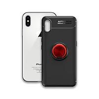 Ôp điện thoại Iphone X / XS - Chất liệu TPU Carbon Silicone mềm mại, chống bẩn - Iring màu đỏ - Hàng Chính Hãng
