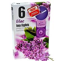 Hộp 6 nến thơm tinh dầu Tealight Admit Lilac QT026079 - hoa tử đinh hương