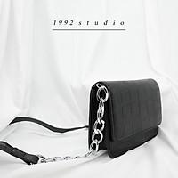 Túi xách nữ/ 1992 s t u d i o/ LOVELL BAG/ túi xách màu đen đơn giản