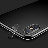 Miếng dán kính cường lực Camera cho iPhone X / iPhone Xs / iPhone Xs Max hiệu Benks mỏng 0.15mm chất lượng ảnh chụp nét như lúc chưa dán - Hàng nhập khẩu