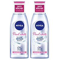 Combo 2 Nước Tẩy Trang Nivea Extra Bright Make Up Clear Cleansing Water (125ml*2)