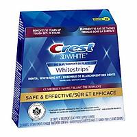 Miếng Dán Trắng Răng Crest 3D Whitestrips Supreme Flexfit
