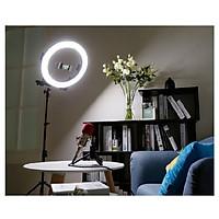 Đèn led HD Ring RL18 chiếu sáng Studio, makeup, quay phim , chụp ảnh,livetream