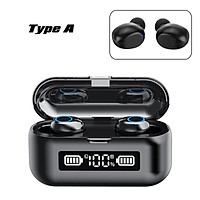 Type A/B/C bluetooth 5.0 TWS Earphone LED Power Display Stereo Headset Touch Operation IPX7 Waterproof Touch Control Can Be Used As Phone Holder