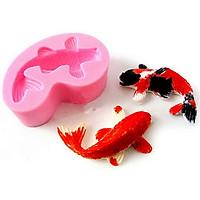 Khuôn rau câu silicon cá Koi