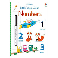 Usborne Little Wipe-Clean: Numbers