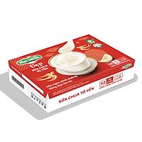NutiMilk Đẹp - Thùng 48 Hộp Sữa chua Tổ Yến TU.SCTYTI Nutifood
