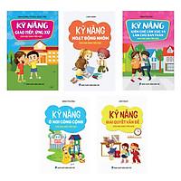 Combo 5 cuốn Sách kỹ năng dành cho học sinh (Từ 6 - 12 tuổi)