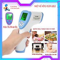 Nhiệt kế hồng ngoại điện tử đa năng đo trán hiển thị kết quả nhanh trong 1s , bảo vệ sức khỏe của gia đình