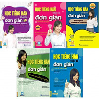 Combo trọn bộ 5 cuốn Học tiếng Hàn thật là đơn giản + Tặng kèm sổ tay Miniso + bookmark