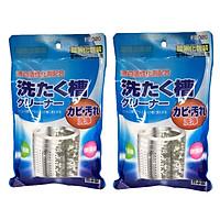 Combo 2 Gói Bột Tẩy Rửa, Bột Vệ Sinh Lồng Máy Giặt Nhật Bản