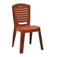 Bộ 6 ghế nhựa đúc có tựa lưng dành cho nhà hàng Song Long- cỡ đại